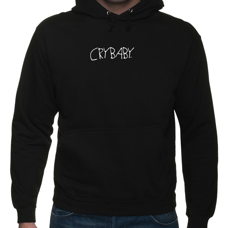 HOODIE CRYBABY. [WHITE]